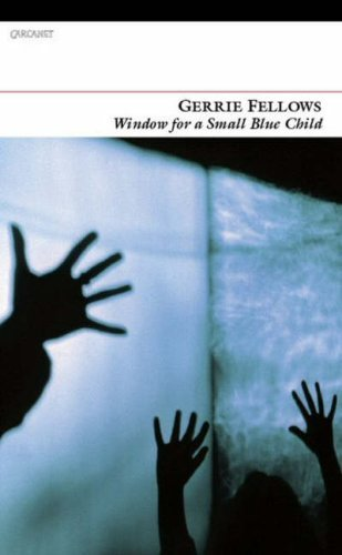 Window for a small blue child book cover